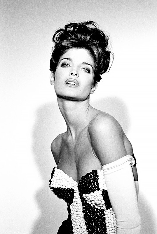 Jean-Daniel Lorieux - Stephanie Seymour, fashion by Dolce&Gabbana for L