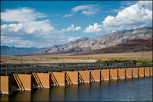 Jennifer Little - Original Los Angeles Aqueduct Intake Diversion, Owens Valley, CA, 2013