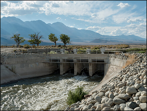 Jennifer Little - Original Intake for the Los Angeles Aqueduct, Owens Valley, CA, 2013