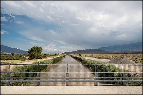 Jennifer Little - Los Angeles Aqueduct Canal, Owens Valley, CA, 2013