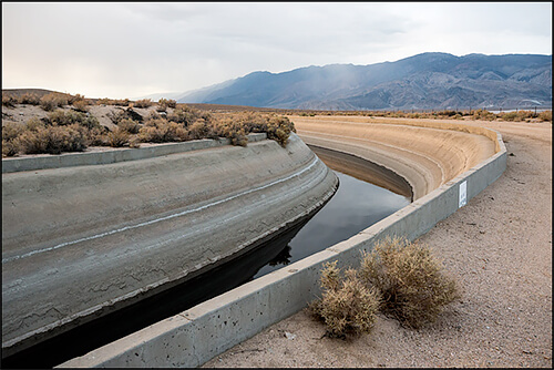 Jennifer Little - Los Angeles Aqueduct Canal, Western Shore of Owens Lake, CA, 2013