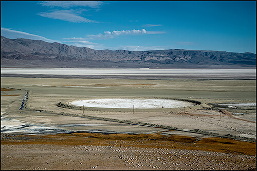 Jennifer Little - Pittsburgh Plate Glass Mine Pit, Owens Lake, CA, 2013