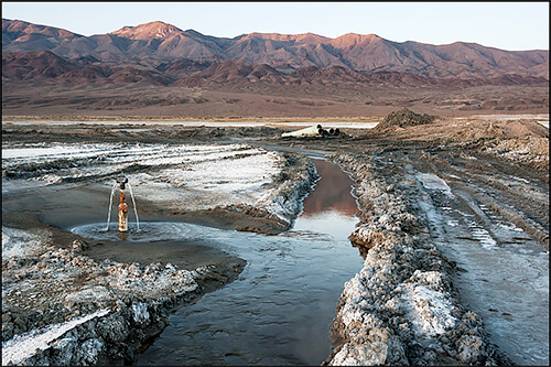 Jennifer Little - LADWP Irrigation Ditch, Owens Lake, CA, 2012