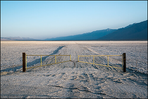 Jennifer Little - LADWP Gravel Mitigation Zone, Owens Lake, CA , 2013
