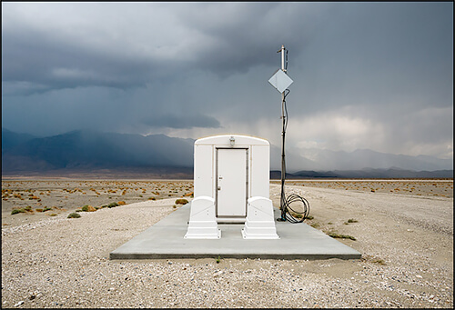 Jennifer Little - Small LADWP Water Pumping Station, Owens Lake, CA, 2013