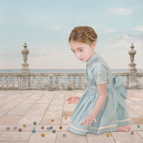 Girl with Marbles 2005<p>© Loretta Lux</p>