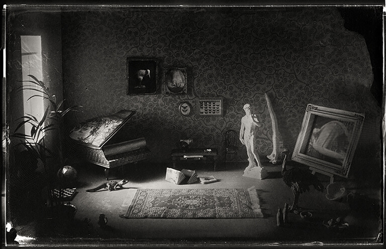 The House of Mr L., Dioramas, Tintype<p>© Patricia Lagarde</p>