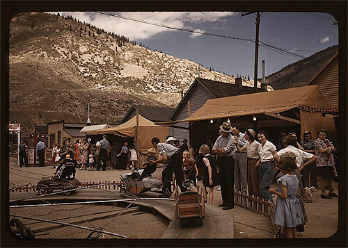Russell Lee - Delta County Fair in Colorado, in late 1940.