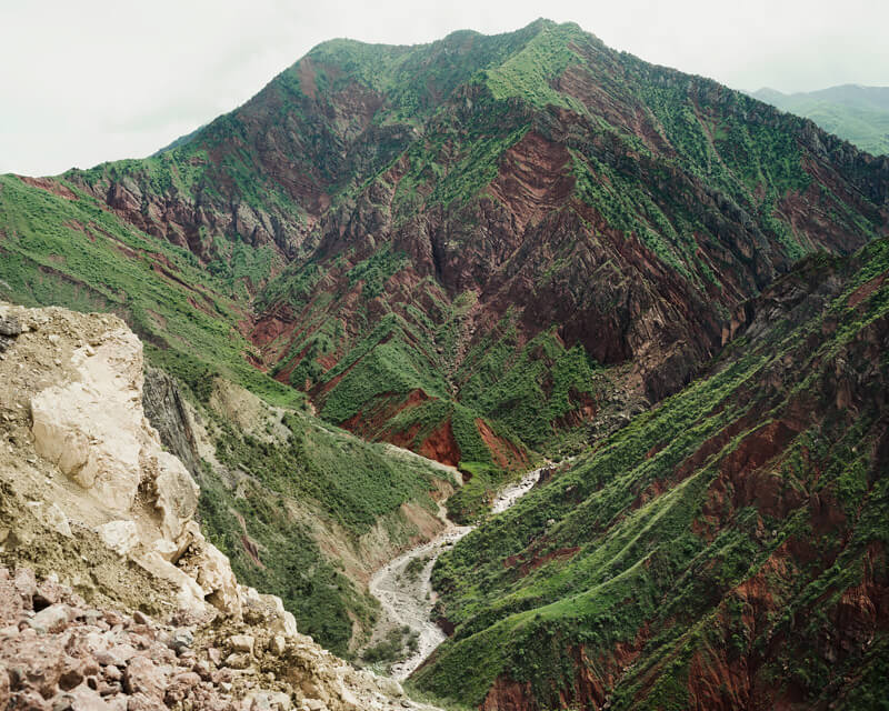 Tajikistan:  Mountains around Norak, 2016<p>© Davide Monteleone</p>