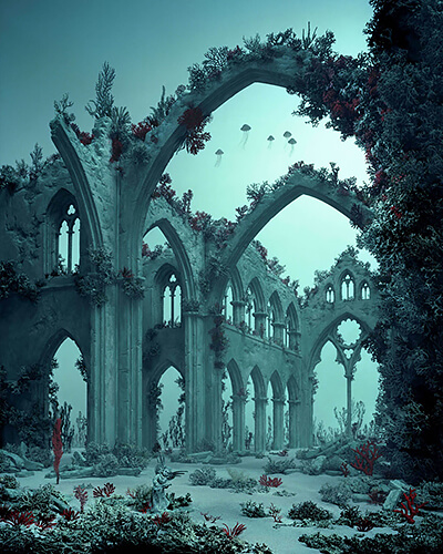 Didier Massard - Underwater Cathedral 2012