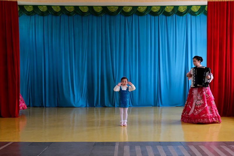Fabian Muir - Blue Angel (Chongjin, North Korea), 2016