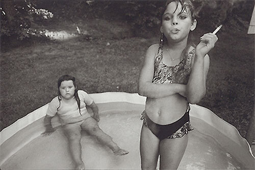 Mary Ellen Mark - Amanda and Her Cousin Amy, Valdese, North Carolina, 1994