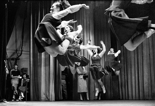 Michael Philip Manheim - Ladies Leaping