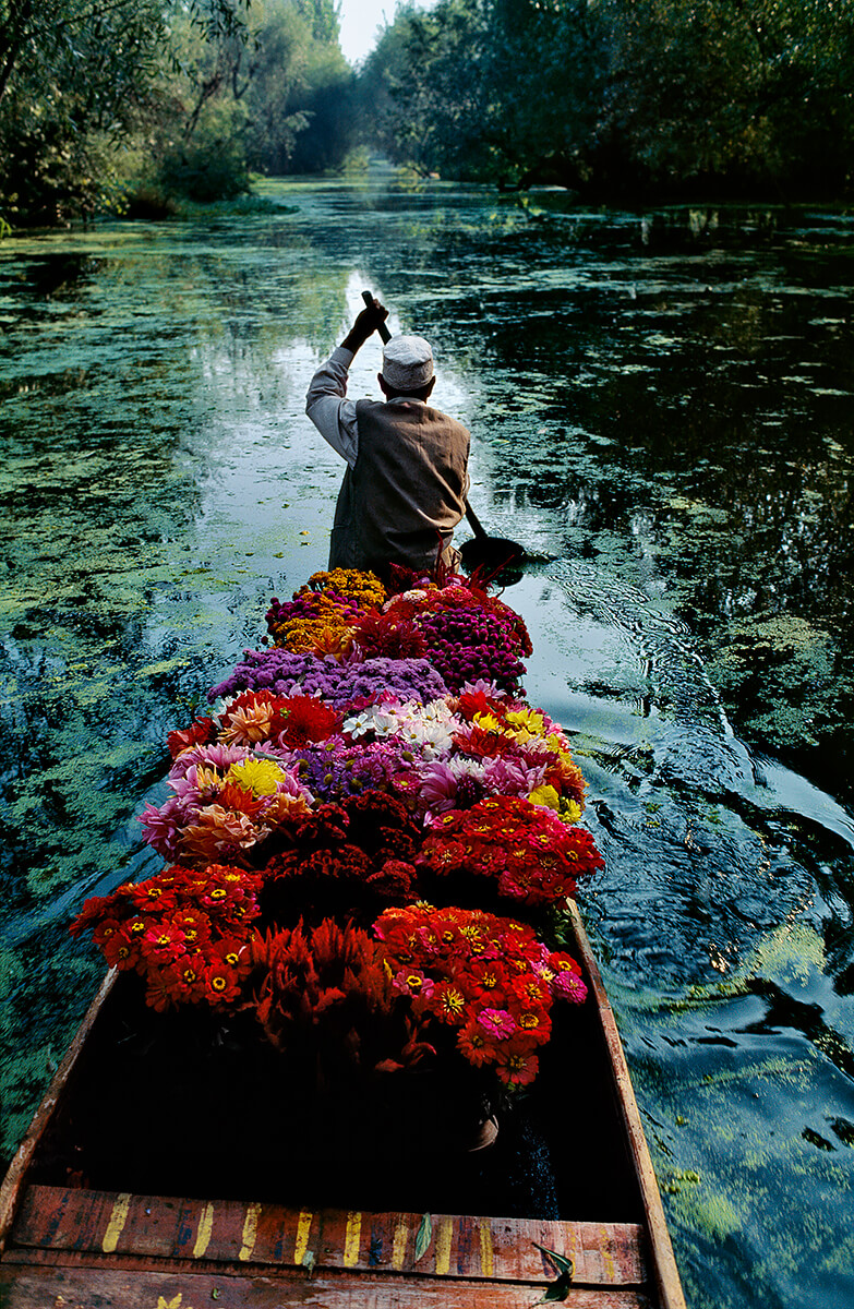 Dal Lake, Srinagar, Kashmir, 1996<p>Courtesy Magnum Photos / © Steve McCurry</p>