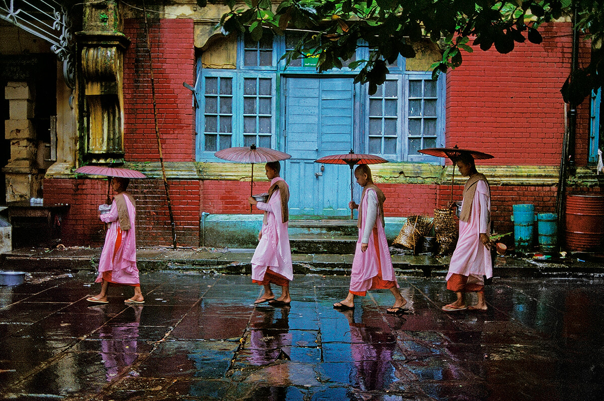 Yangon, Myanmar, 1994<p>Courtesy Magnum Photos / © Steve McCurry</p>