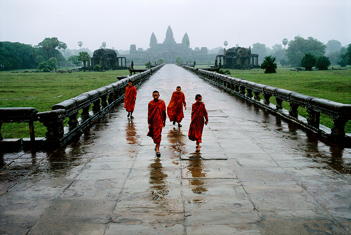 Angkor Wat, Cambodia, 1999<p>Courtesy Magnum Photos / © Steve McCurry</p>