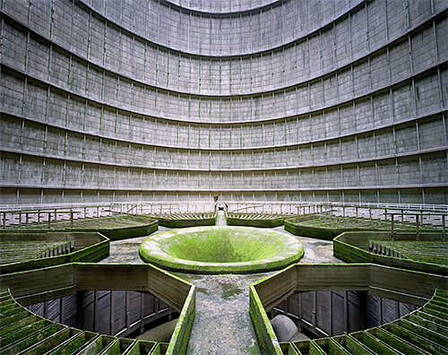 Yves Marchand & Romain Meffre - Cooling Tower, Power Plant, Monceau-sur-Sambre, Belgium, Industry 2011
