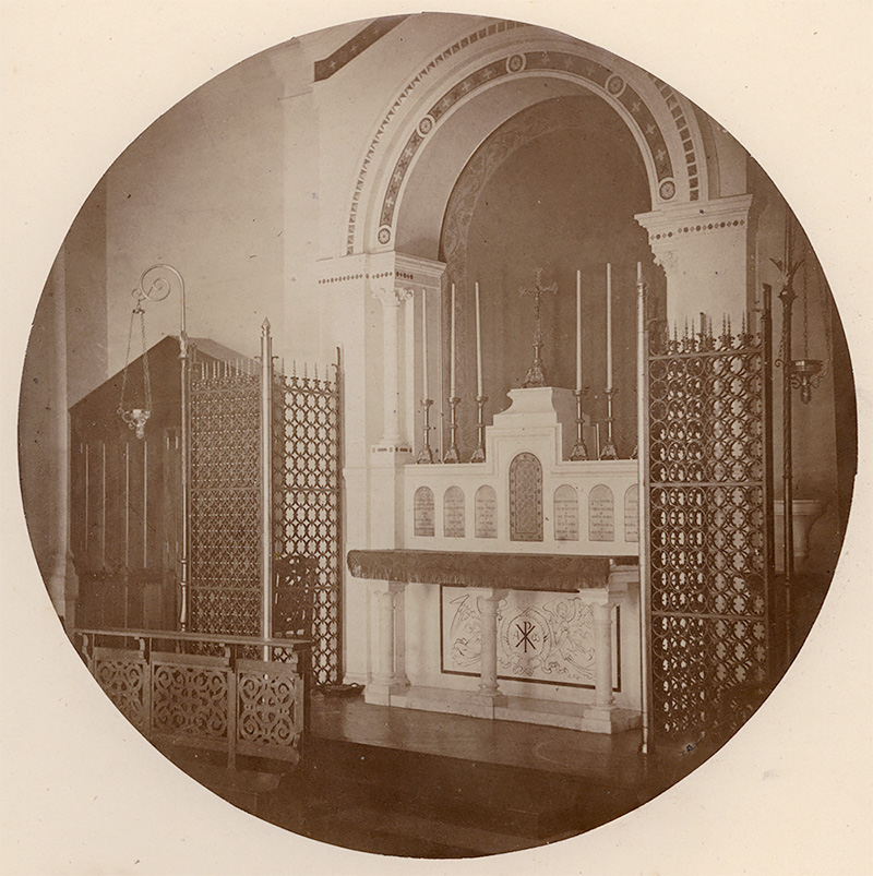 Charles Nègre - The Chapel, Vincennes Imperial Asylum 1859