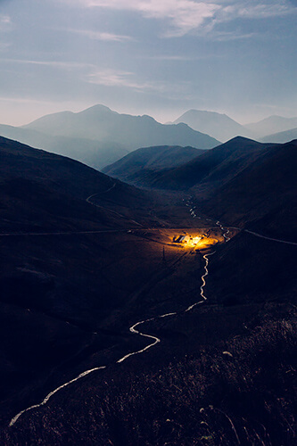 Night in the Alania Mountains<p>© Alesya Osadchaya</p>