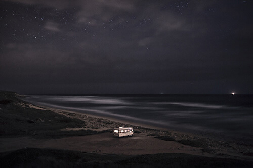 A van in the sea 10, Pria dos Aivados<p>© Alessandro Puccinelli</p>