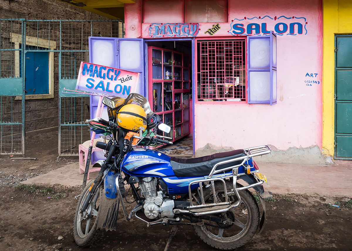 Maggy Hair Salon, Dandora<p>© Betty Press</p>