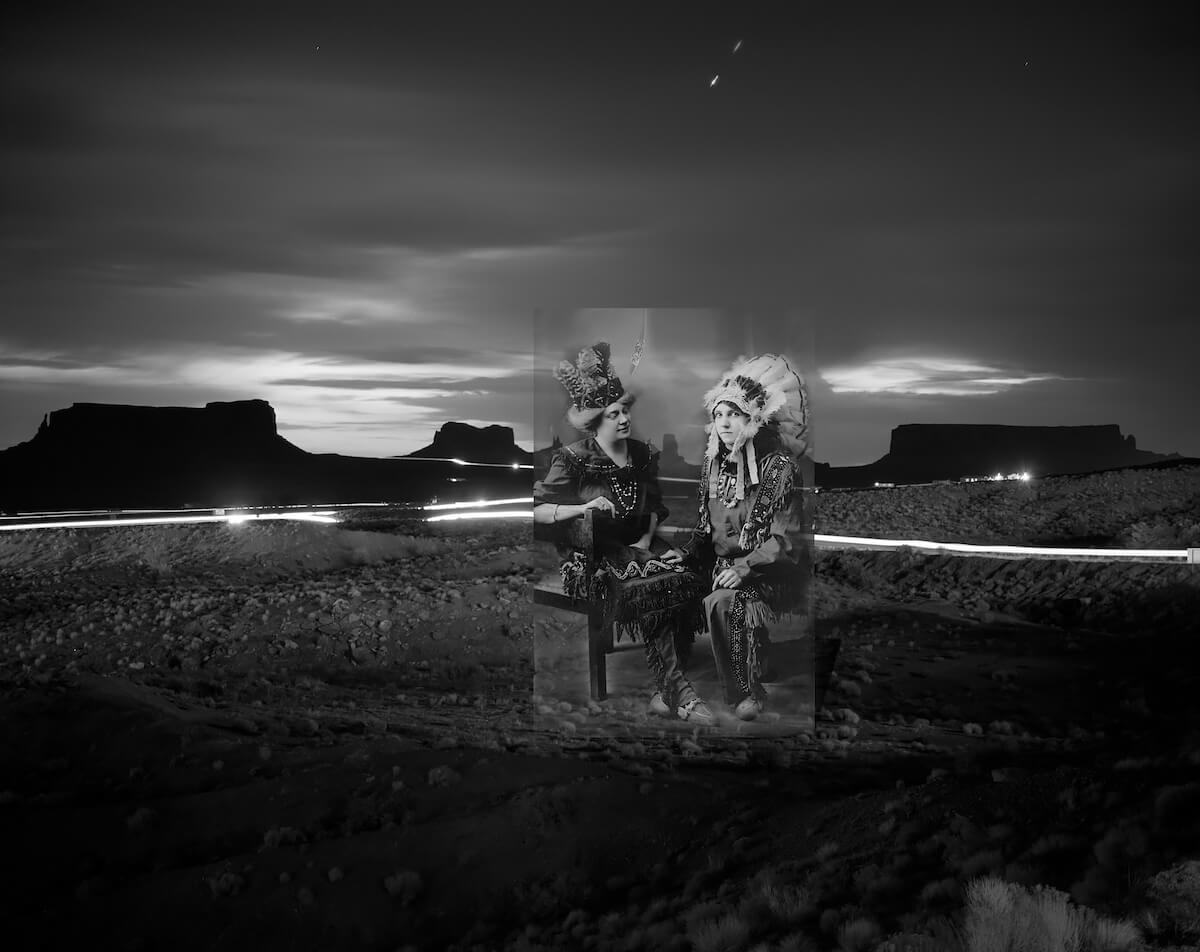 Dixie and Monument Valley, 2011<p>© Jackson Patterson</p>