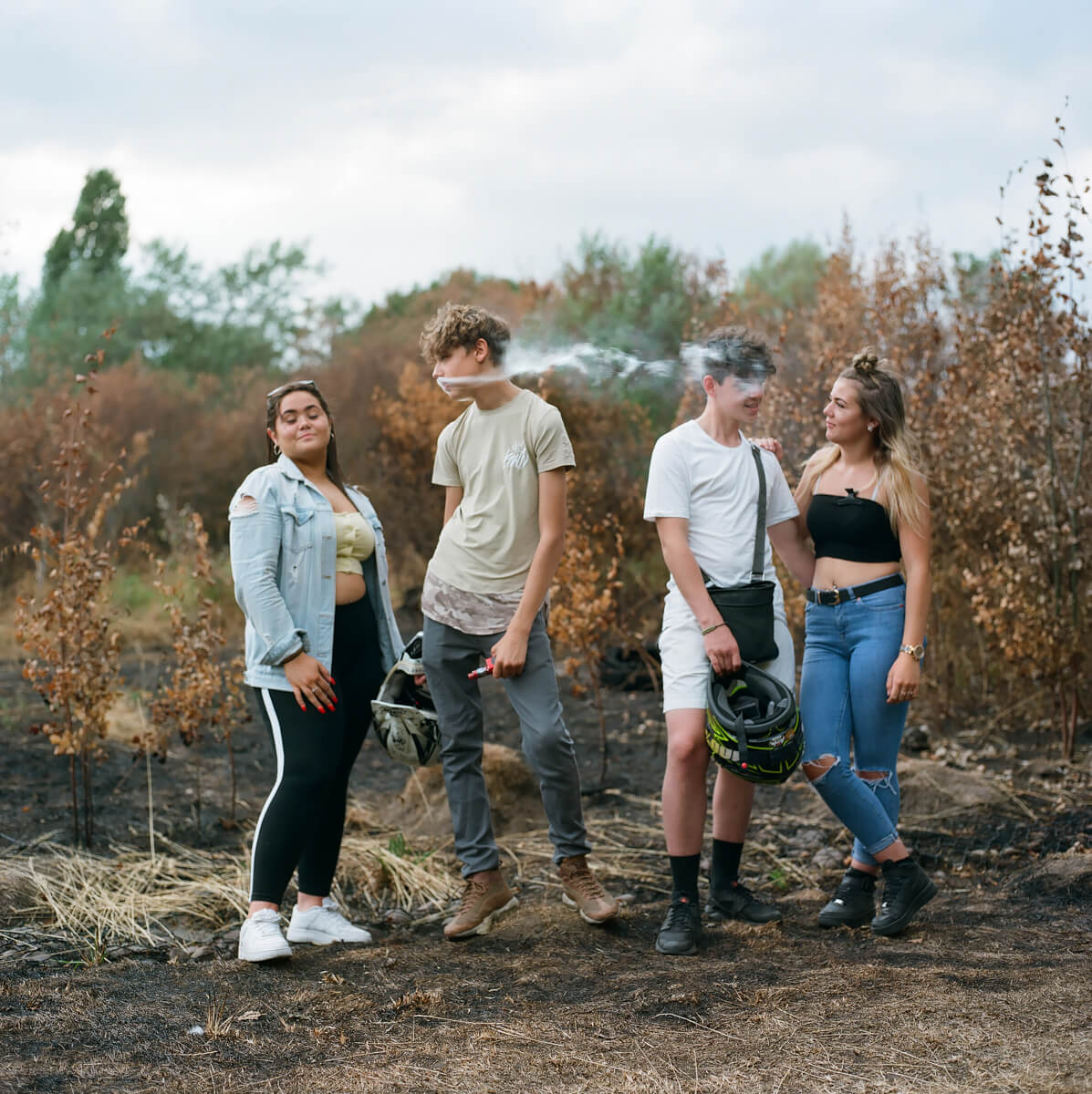 Fern , Callum,Ash and Sophie - The Cracker<p>© Laura Pannack</p>