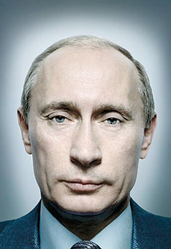 Vladimir Poutine<p>Courtesy Trunk Archive / © Platon (Antoniou)</p>