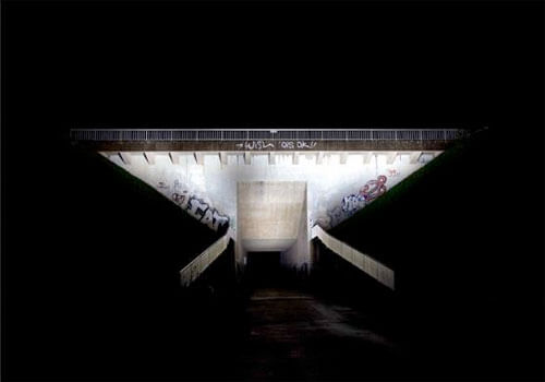 Bridge #2 Night/Color Series, 2010<p>© Ralf Peters</p>