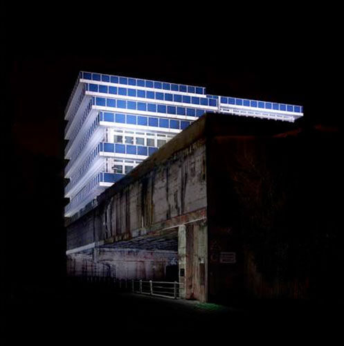 Blue House Night/Color Series, 2010<p>© Ralf Peters</p>