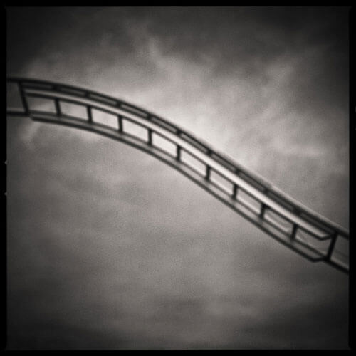 Up the Ladder Down, from the series Fairgrounds<p>© Sean Perry</p>