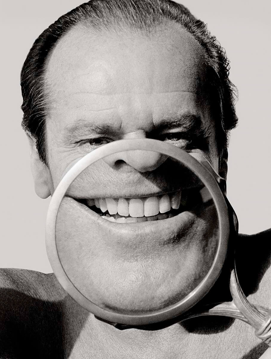 1986 Jack Nicholson los angeles MFA Collection portrait<p>Courtesy Trunk Archive / © Herb Ritts</p>