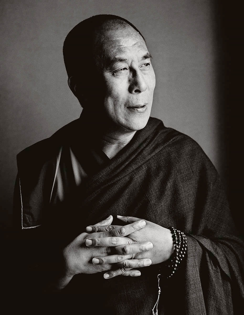Herb Ritts - His Holiness the Dalai Lama, New York, 1987