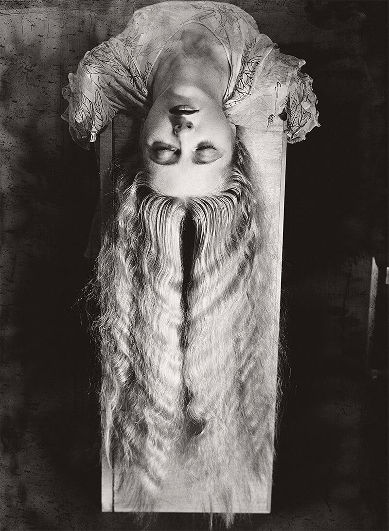 Man Ray - Woman with Long Hair, 1929