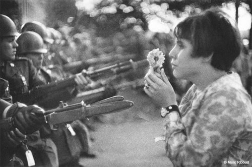 Marc Riboud - Washington D. C, 21 octobre 1967