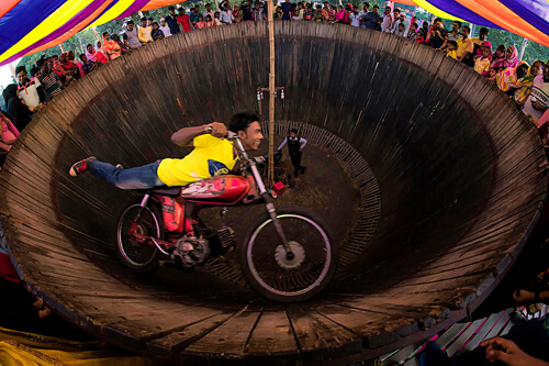 Wall of Death Stunt<p>© MD Tanveer Rohan</p>
