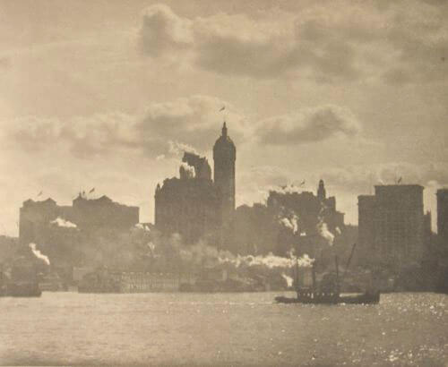 Alfred Stieglitz - Lower Manhattan, 1910
