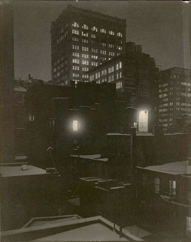 Alfred Stieglitz - From the Back Window, 291, 1915