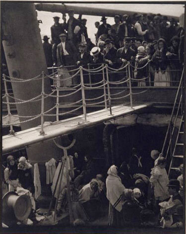 Alfred Stieglitz - The Steerage,1915