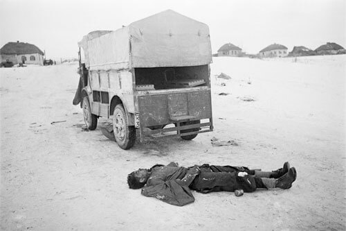 He fought to the end… Dead German driver. February 1943<p>© Arkady Shaikhet</p>