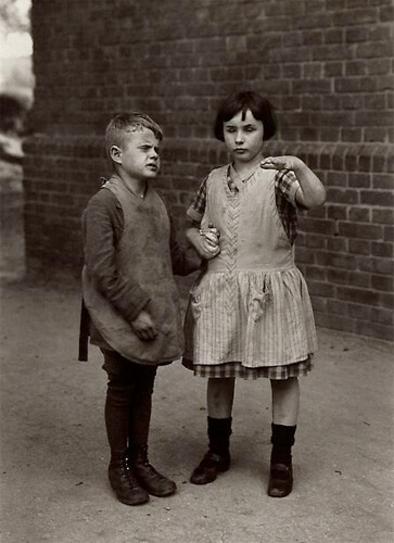 Children Born Blind, c. 1930<p>© August Sander</p>