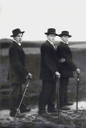 Young Farmers, 1914<p>© August Sander</p>