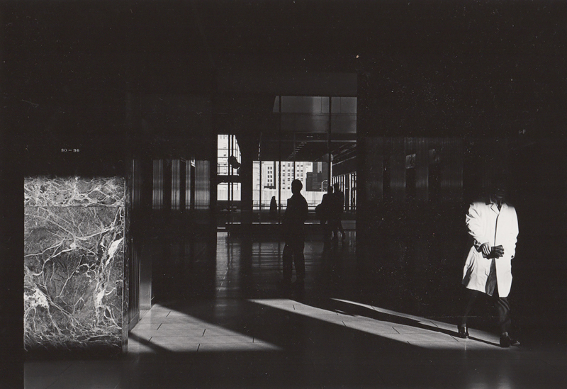 Untitled (marble lobby), c. 1960's<p>© Ed Sievers</p>