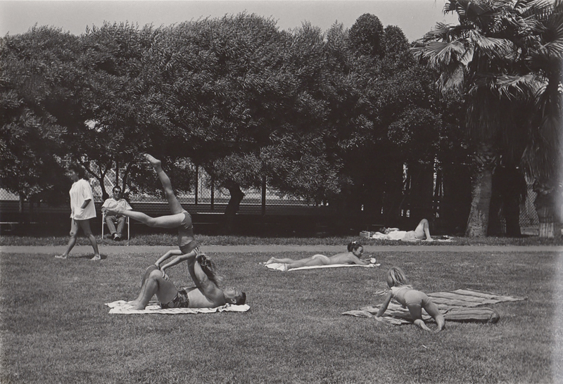 Untitled (people laying in park), Venice Beach, CA, c. 1970's<p>© Ed Sievers</p>