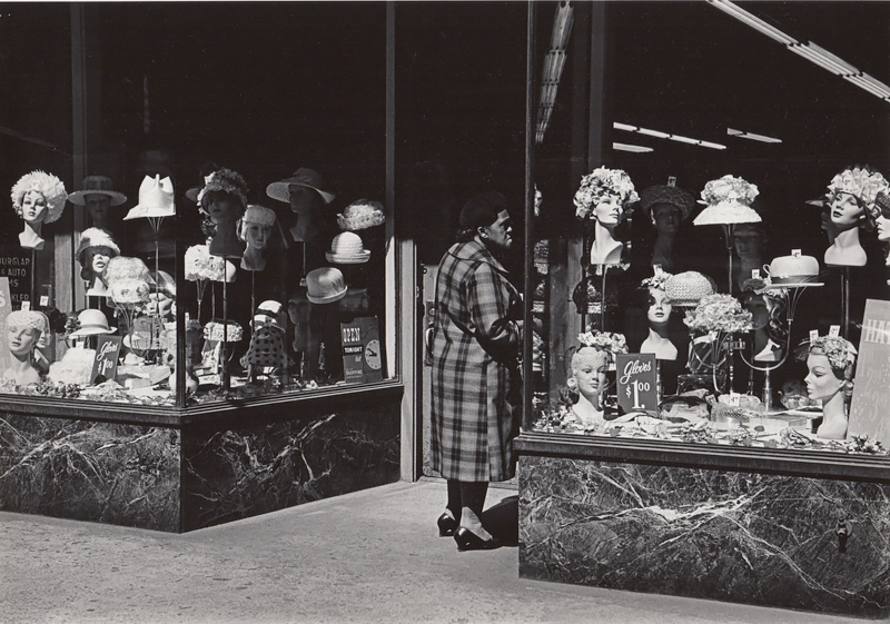 Untitled (hat store), c. 1960's<p>© Ed Sievers</p>