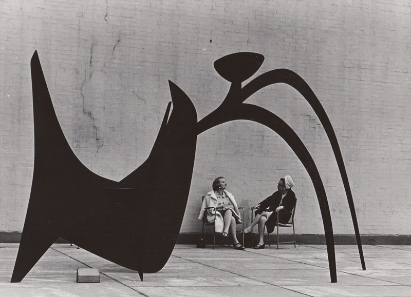 Untitled (Two women with sculpture), c. 1960's<p>© Ed Sievers</p>