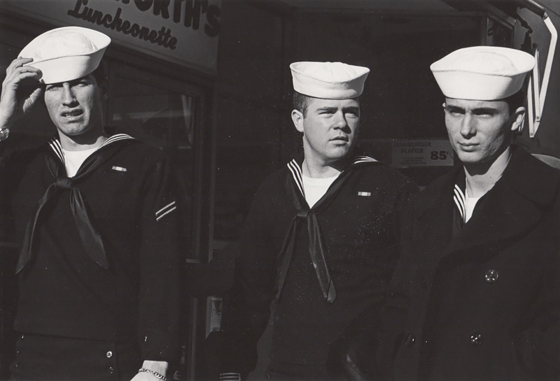 Untitled (Three sailors), c. 1960's<p>© Ed Sievers</p>