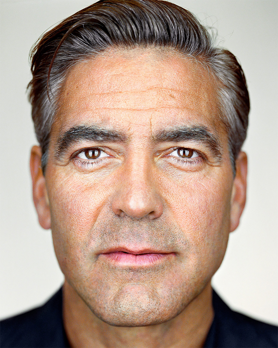 Close Up - George Clooney<p>© Martin Schoeller</p>