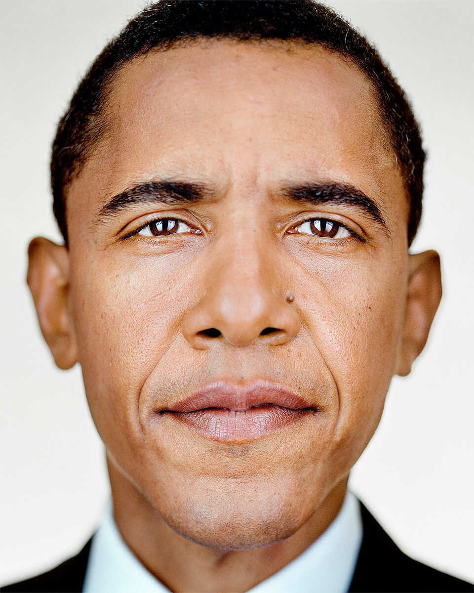 Close Up - Barack Obama<p>© Martin Schoeller</p>