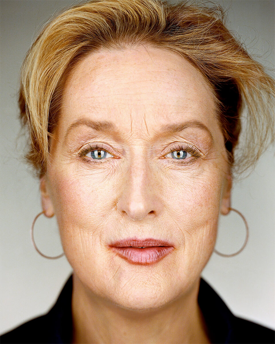 Close Up - Meryl Streep<p>© Martin Schoeller</p>